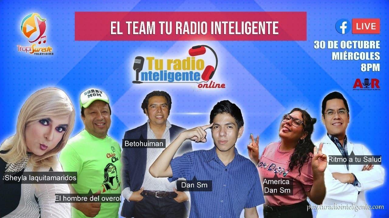Locutores de Tu radio Inteligente en Tropi-Sureste